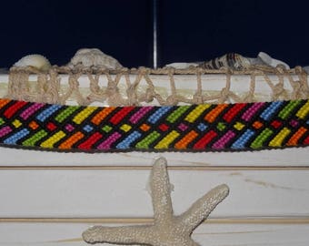 """Quirky Rainbow"" Friendship Bracelet"