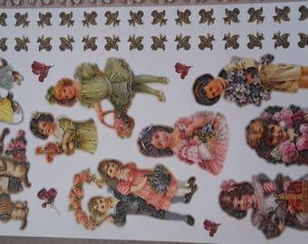 Stickers stickers children vintage