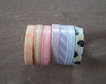 Washi tape X 7 scrapbooking