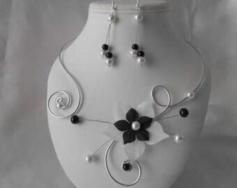 Wedding ALEXINA 2 piece necklace & earrings set