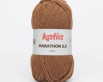 Marathon 3.5 wool camel (8) Katia - ball 50 GR