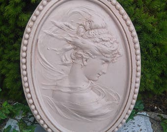 """""""cameo"""" staff of weathered old frame"""