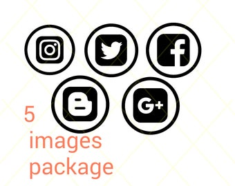 social media icon package