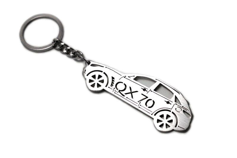 Keychain With Ring Made From Stainless Steel Perfect T For Car