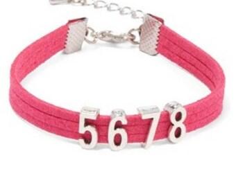 5678 Bracelet - 55 Light Blue