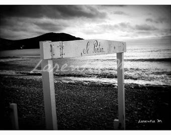 Photo Panel 30X40cm on beach in St Cyr NB