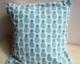Pillow cover - 40 x 40 - pineapple motif