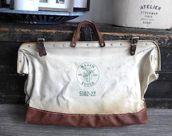 Antique Klein Tool bag 5502-22