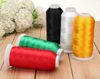 Yellow 1 spool of 5000 m thread to sew sewing Polyester within 15 days