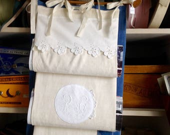 Towel holder or magazine vintage