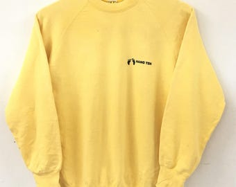 Vintage Hang Ten Yellow Sweatshirt