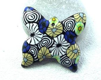 Butterfly button 3.7 cm