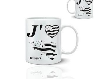 Brittany mug - I love Brittany