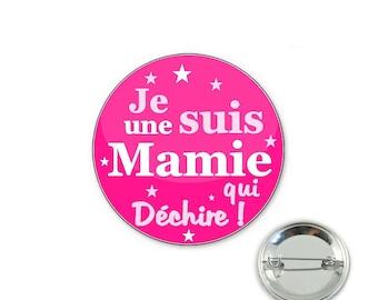 Grandma badge that dehire - o32mm pin