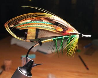 Green Highlander Salmon Fly