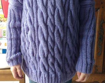 Nice large sweater with hood