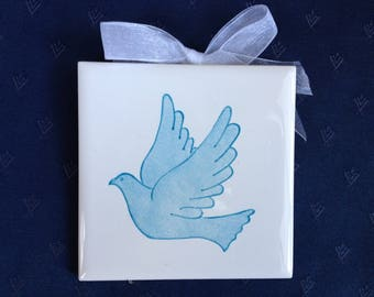 The Dove: Gift for a birth, baptism, confirmation or communion