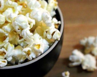 Popcorn Food Photography Print, Fine Art Prints, Wall Art for Kitchen, Home Decor