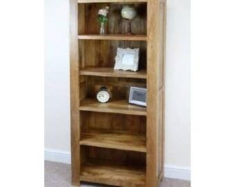 Mantis Large Bookcase mango wood