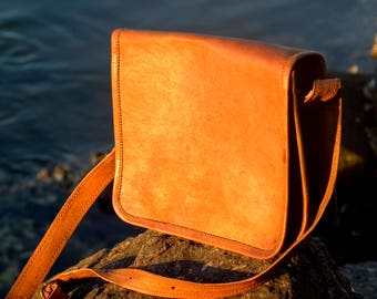 Leather Flap IPad Shoulder Bag