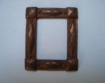 rectangular copper photo frame