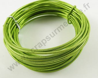 Aluminum wire Ø 2 mm x 1 m - Apple green-