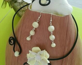 Set complete necklace earrings bracelet €20
