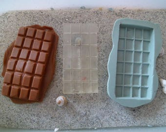 silicone mold chocolate gm for plaster wepam fimo