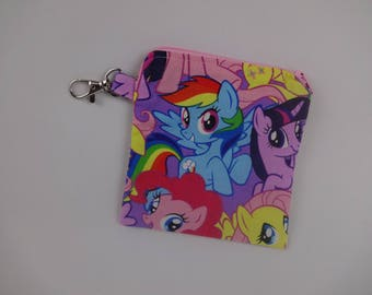 My Little Pony Rainbow Dash coin purse change pouch