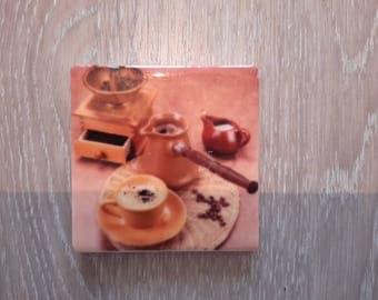 ceramic coffee mug series mill magnet