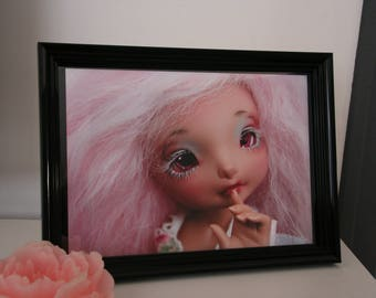 Photo of framed art BJD Doll doll