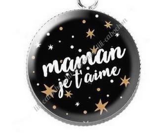 Resin cabochon pendant for MOM v13