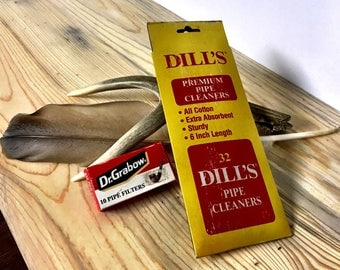 Dill's Pipe Cleaners & Dr. Grabow Pipe Filters Set
