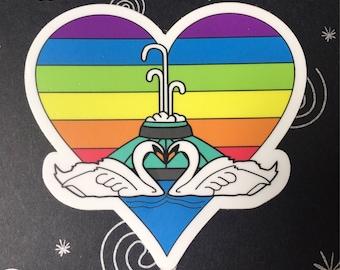 Orlando Love Sticker