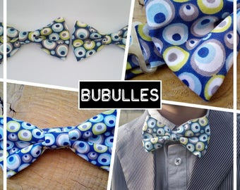 """Bow tie """"Bubbles"""" collection, man/baby/child/teen"""