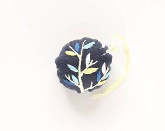 Tree Branch Pincushion - Embroidery kit
