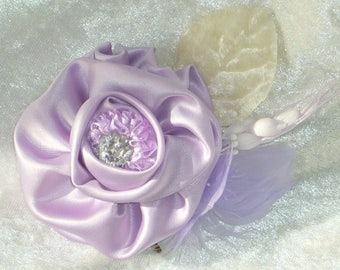handmade for hair or attach satin flowers