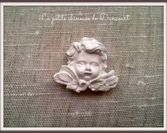 Plaster Cherub decorative