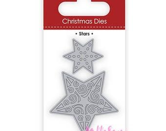 Die cut or cutting templates-star Christmas scrapbooking cardmaking (ref.110) *.