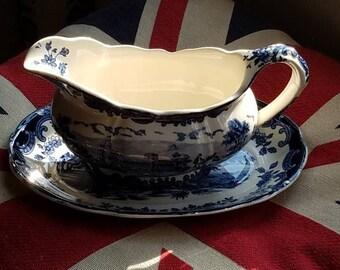 "Royal Worcester Ltd ""1790 Palissy Avon Scenes"" England"
