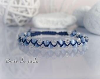 Women bracelet braided reference BJ - 127