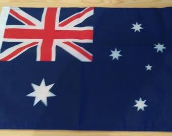 "AUSTRALIA FLAG - 45cm x 30cm - 18"" x 12"" - Australian Flag"