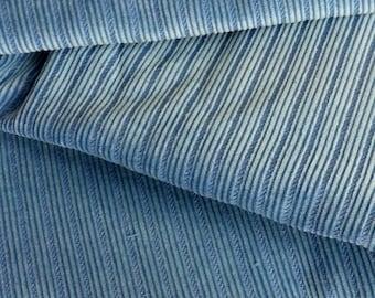 gorgeous teal corduroy - 800 stripes