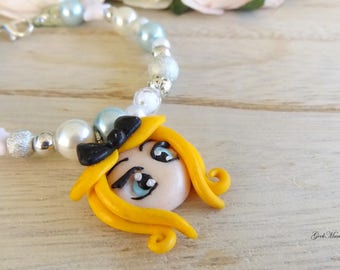 Alice in Wonderland Pearl Bracelet : Alice