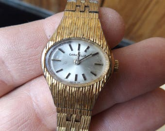 Working Vintage Caravelle Women's Mechanical Watch