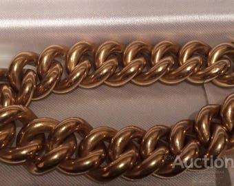 Golden bracelet 56 test major links Russia 19 century
