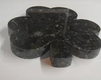 Granite Shamrock Serving Platter