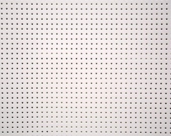 The white vinyl lacquer perforated®