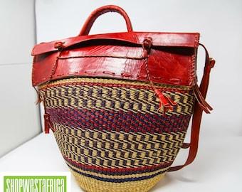 African Bucket Bag