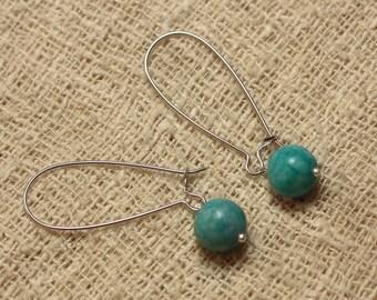 Turquoise Jasper earrings